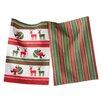 TAG Whimsy 2 Piece Santa's Sack Dishtowel Set