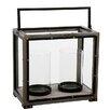 Winward Designs Metal Double Hurricane Lamp Box