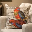 <strong>Winward Designs</strong> Tropical Bird Print Cushion
