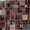 Epoch Architectural Surfaces Contempo Abbott Random Sized Mosaic Tile in Multi