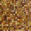 """<strong>5/8"""" x 5/8"""" Polished Onyx Mosaic in Green</strong> by Epoch Architectural Surfaces"""