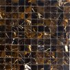 "<strong>Epoch Architectural Surfaces</strong> 1"" x 1"" Polished Marble Mosaic in Michaelangelo"