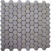 "<strong>Epoch Architectural Surfaces</strong> Thassos 1"" x 1"" Hexagon Polished Marble Mosaic in White"