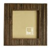 Be Home Wooden Striped Picture Frame