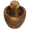 Be Home Teak Mortar and Pestle