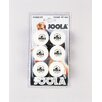 Joola USA Rossi Champ Ball - 6 Count in White