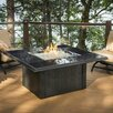The Outdoor GreatRoom Company Napa Valley Crystal Fire Pit Table