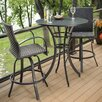 The Outdoor GreatRoom Company Empire 3 Piece Dinning Set (Set of 3)