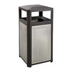 Safco Products Company Evos™ Series 15 Gallon Steel Waste Receptacle