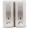 Zadro Double Stainless Steel Shower Dispenser
