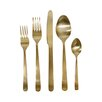 <strong>DwellStudio</strong> 5 Piece Oro Gold Cutlery Set