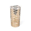 DwellStudio GOLD RIBBONS DRINKING GLASS-TALL