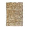 DwellStudio Sheepskin Longwool Linen Rug