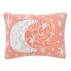 DwellStudio Galaxy Blossom Knit Boudoir Pillow
