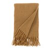 DwellStudio Mohair Solid Camel Throw