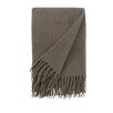 DwellStudio Mohair Solid Ash Throw