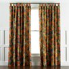 DwellStudio Ming Dragon Persimmon Curtain Panels