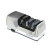 Chef's Choice Professional Sharpening Station Electric Knife Sharpener in Brushed Metal