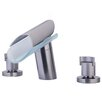 Morgana Double Handle Deck Mount Roman Tub Faucet Trim Grip Handle