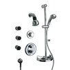 <strong>LaToscana</strong> Thermostatic Shower Faucet Set with Hand Shower and Body Sprays