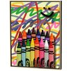 <strong>Menaul Fine Art</strong> Crayons Limited Edition - Scott J. Menaul Framed Art