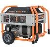 Generac Portable 10,000 Watt Gasoline Generator with Wheel Kit