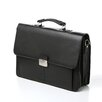 "Kenneth Cole Reaction Manhattan Leather Portfolio ""Flap-py Gilmore"" Leather Briefcase"