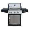 <strong>Falcon Series 3 Burner Gas Grill with Side Burner</strong> by Landmann