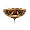 Elk Lighting Tiffany Buckingham 2 Light Ceiling Fan Light Kit