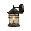 <strong>Elk Lighting</strong> Madison 1 Light Outdoor Wall Sconce