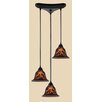 Elk Lighting Firestorm 3 Light Pendant