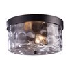 Grand Aisle 2 Light Outdoor Flush Mount