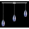 Iridescence 3 Light Linear Pendant