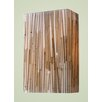 Modern Organics 2 Light Wall Sconce with Bamboo Shade