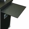 Jelco RotoLift Hanging Equipment Shelf in Black