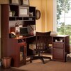 <strong>Cabot L-Desk with Hutch and Lateral File</strong> by Bush Industries