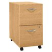 Bush Industries Series C 2-Drawer Mobile  Filing Cabinet