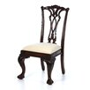 Hooker Furniture Bedford Row Ball / Claw Desk Chair in Dark Cherry