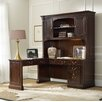 Hooker Furniture Westbury L-Shape Desk Office Suite