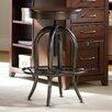 """Hooker Furniture Wendover 24"""" Adjustable Bar Stool"""