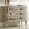 Hooker Furniture 3 Drawer Antique Mirrored Chest