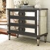Hooker Furniture 3 Drawer Mirror Accented Chest