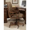 <strong>High-Back Swivel Office Chair with Arms</strong> by Hooker Furniture