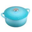 <strong>Denby</strong> Cook and Dine 3.17-qt. Cast Iron Round Casserole