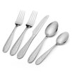 International Silver 20 Piece Hoopla Frost Flatware Set