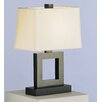 "<strong>Doughnut Duncan 20.75"" H Table Lamp with Rectangle Shade</strong> by Robert Abbey"