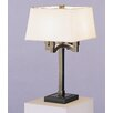 "<strong>Doughnut 27.25"" H Table Lamp with Square Shade</strong> by Robert Abbey"