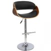 Creative Images International Adjustable Height Bar Stool with Cushion