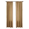 Softline Home Fashions Bella Rod Pocket Curtain Panel