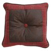 <strong>HiEnd Accents</strong> Cascade Lodge Faux Leather Pillow